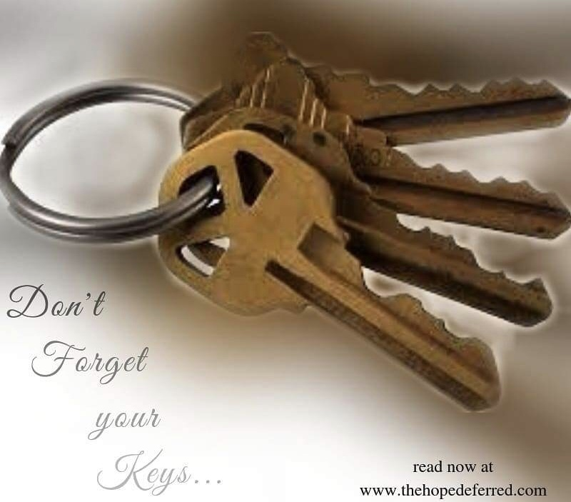 """""""Don't Forget Your Keys"""""""